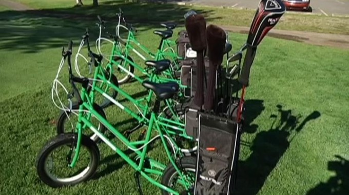 U.P. Golf Course Renting Bike Carts For Free