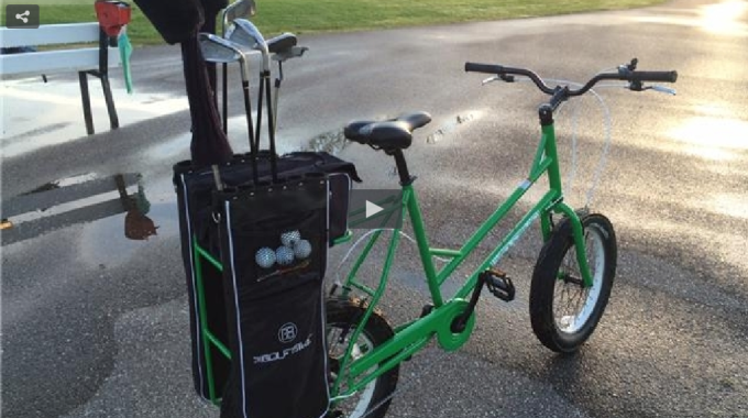 Ditch The Golf Cart And Pedal The Course
