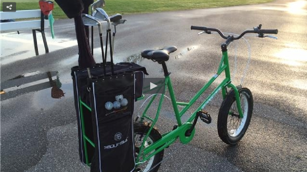 Video of Golf Bike in action on UpNorthLive.com